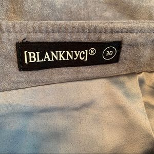Blank NYC Skirts - Blank NYC Grey Suede Skirt Size 30!